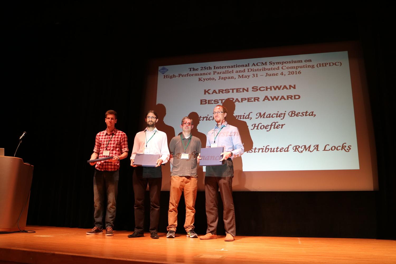 Karsten Schwan Best Paper Award